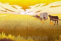 GOLOMT 绘画作品系列蒙古壁画,美到极致!