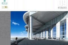呼和浩特东火车站设计