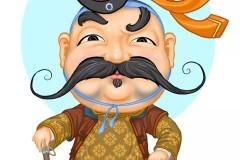 知道这些蒙古表情图出自哪里吗?快来收藏吧
