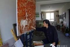 🔴内蒙古油画家--周宇油画作品