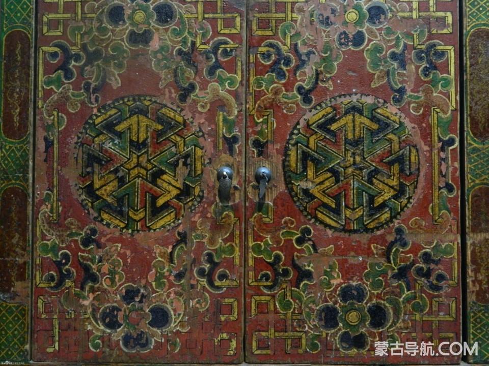 蒙古家具经典样式花纹 — 精美大气,浑然天成