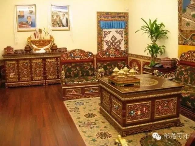 蒙古族传统家具