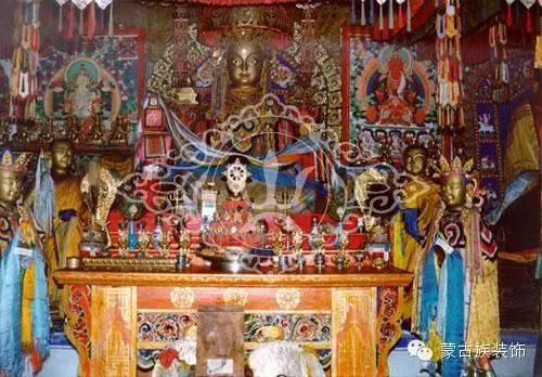 蒙古族家具装饰图案中的藏传佛教因素