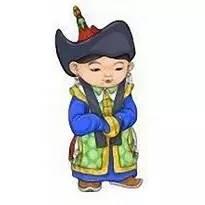 超可爱蒙古风卡通人物