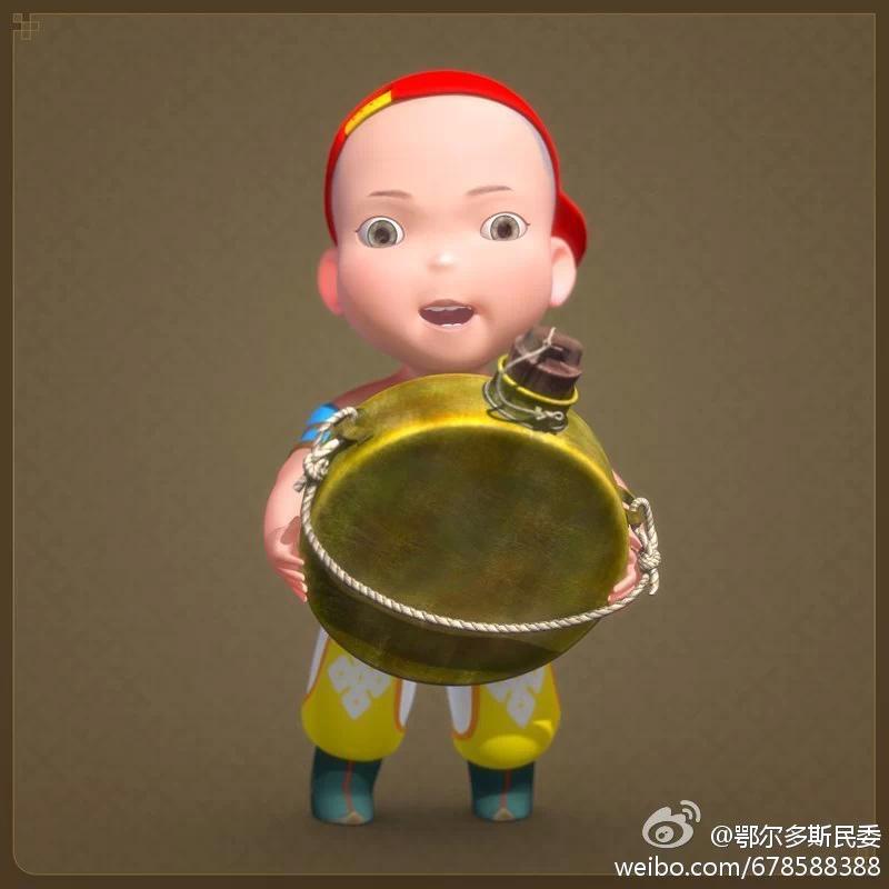 【民族卡通】超可爱的蒙古宝贝 —— 他叫ordos mongol boy 第12张