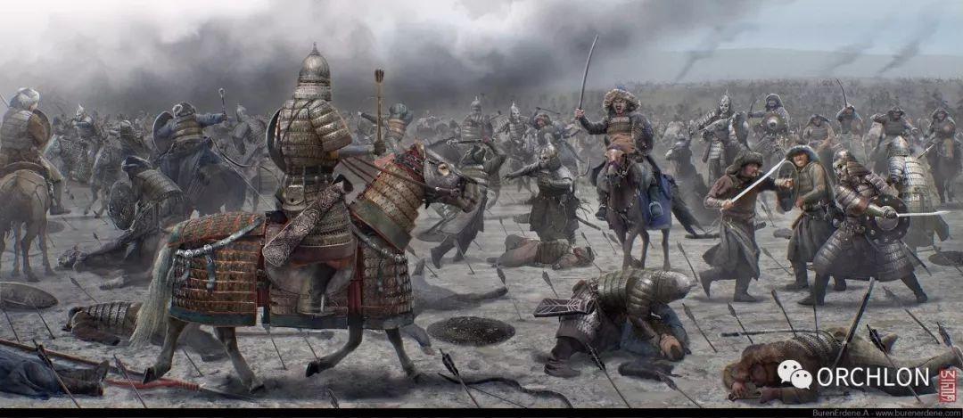 CG原画作品|蒙古军的战场 第2张