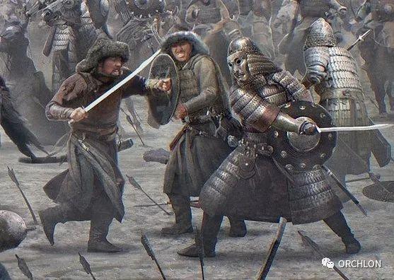 CG原画作品|蒙古军的战场 第5张