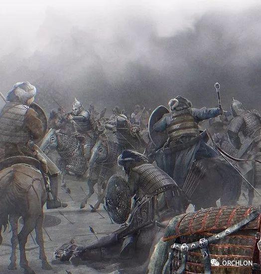 CG原画作品|蒙古军的战场 第8张