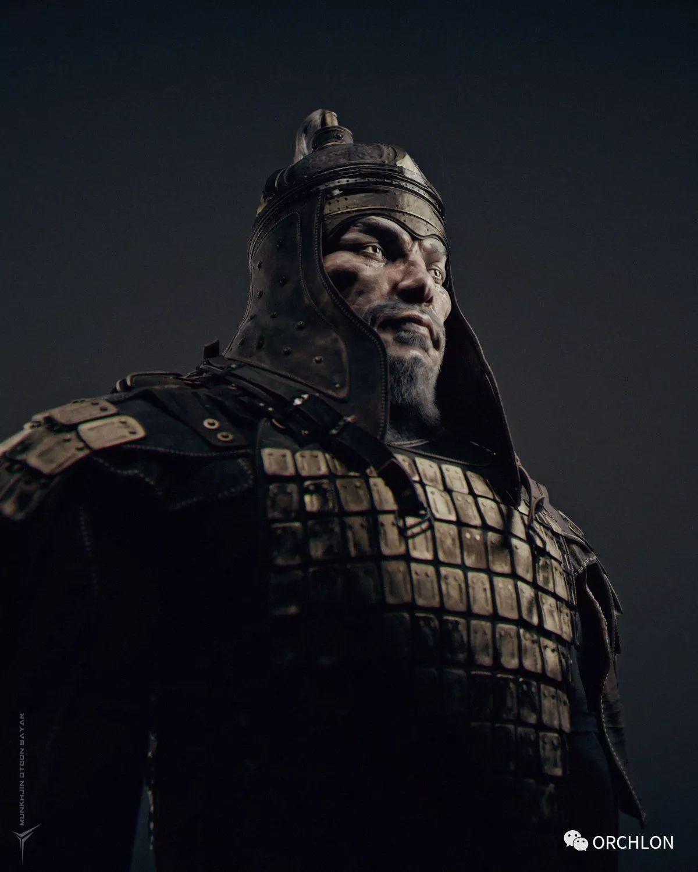 蒙古骑士盔甲3D模型|MONGOLIAN KNIGHT 第4张