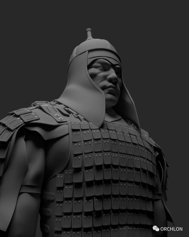 蒙古骑士盔甲3D模型|MONGOLIAN KNIGHT 第10张