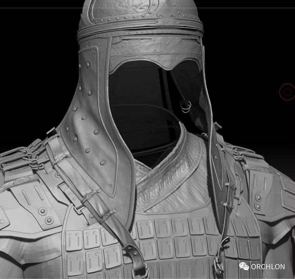 蒙古骑士盔甲3D模型|MONGOLIAN KNIGHT 第13张