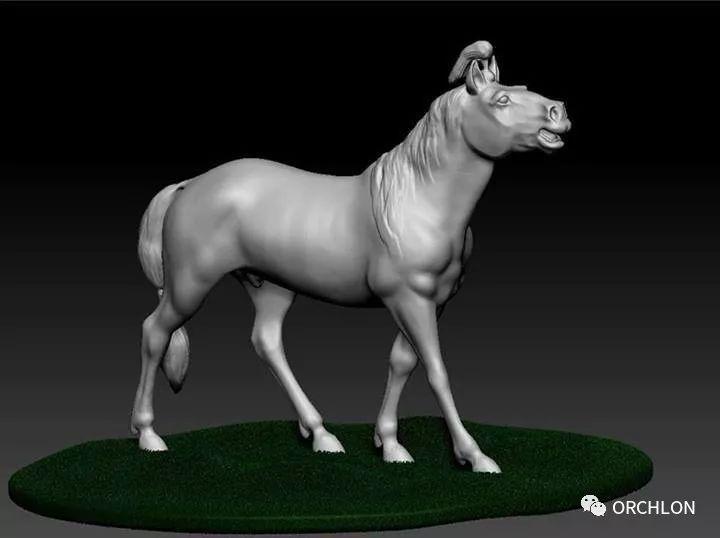 蒙古赛马3D模型作品! 第4张