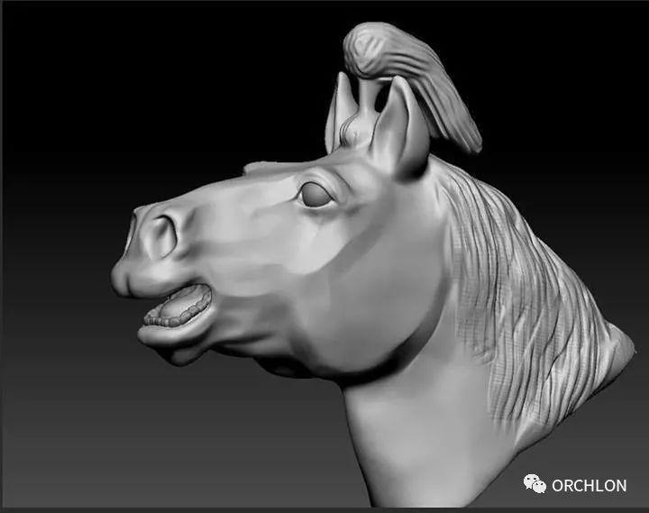 蒙古赛马3D模型作品! 第5张