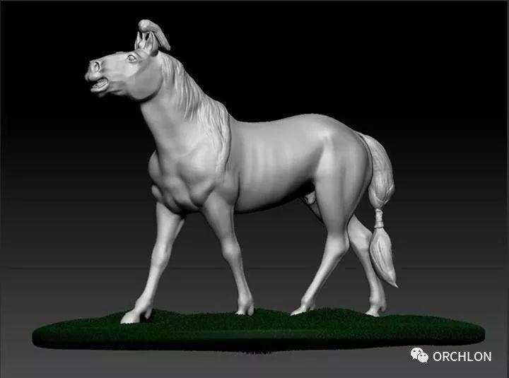 蒙古赛马3D模型作品! 第8张