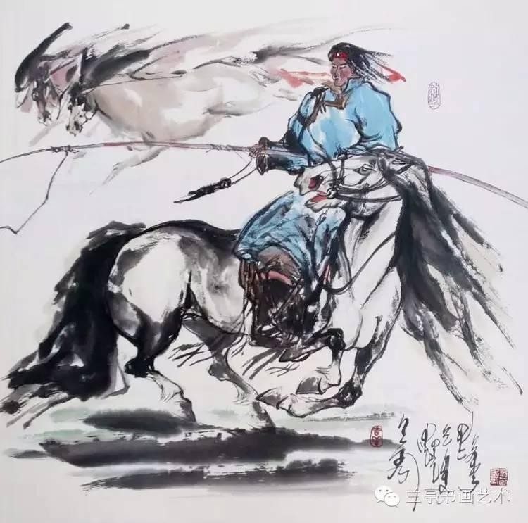 蒙古画家·宝力格 第5张