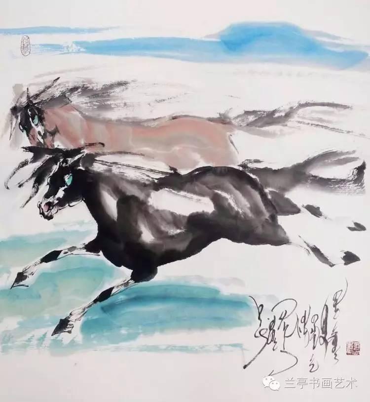 蒙古画家·宝力格 第6张