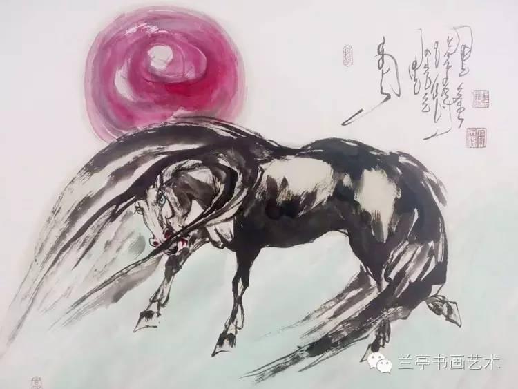 蒙古画家·宝力格 第7张