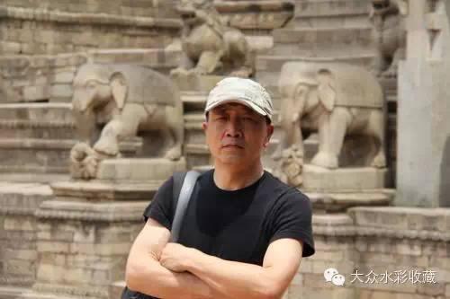 【名家作品】 水彩画家蒋智南与他的《欧洲之旅》