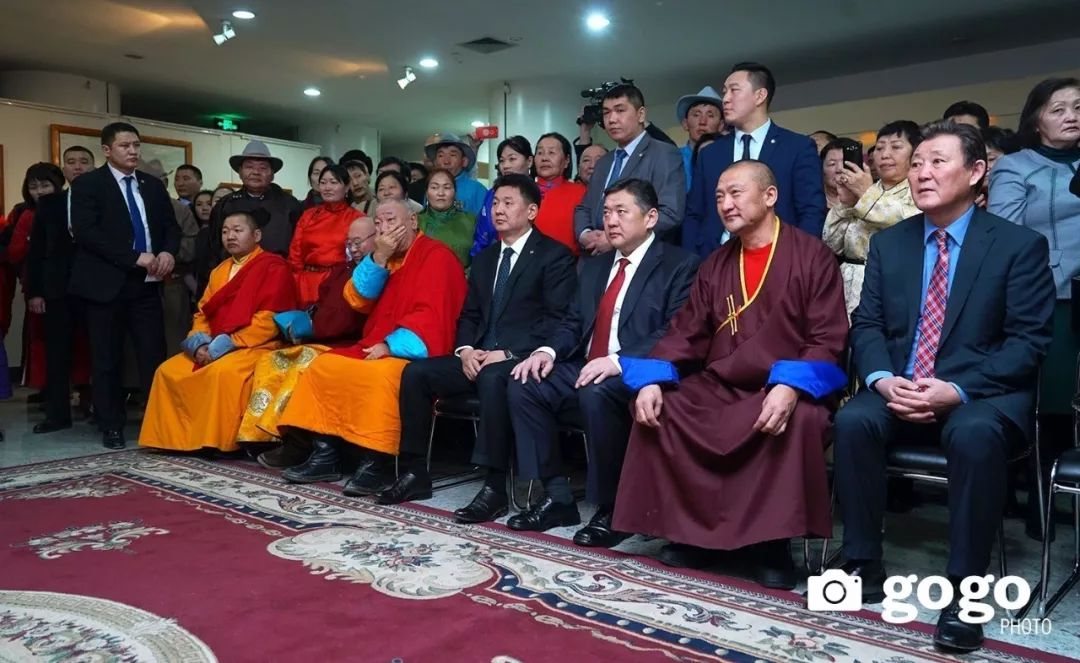 蒙古举办了唐卡文化展览会