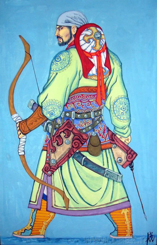 ©◆民族艺术 — 蒙古国布仁额尔敦绘画作品 第10张