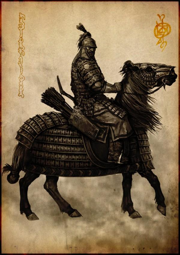 蒙古插画家bitrix studio作品欣赏