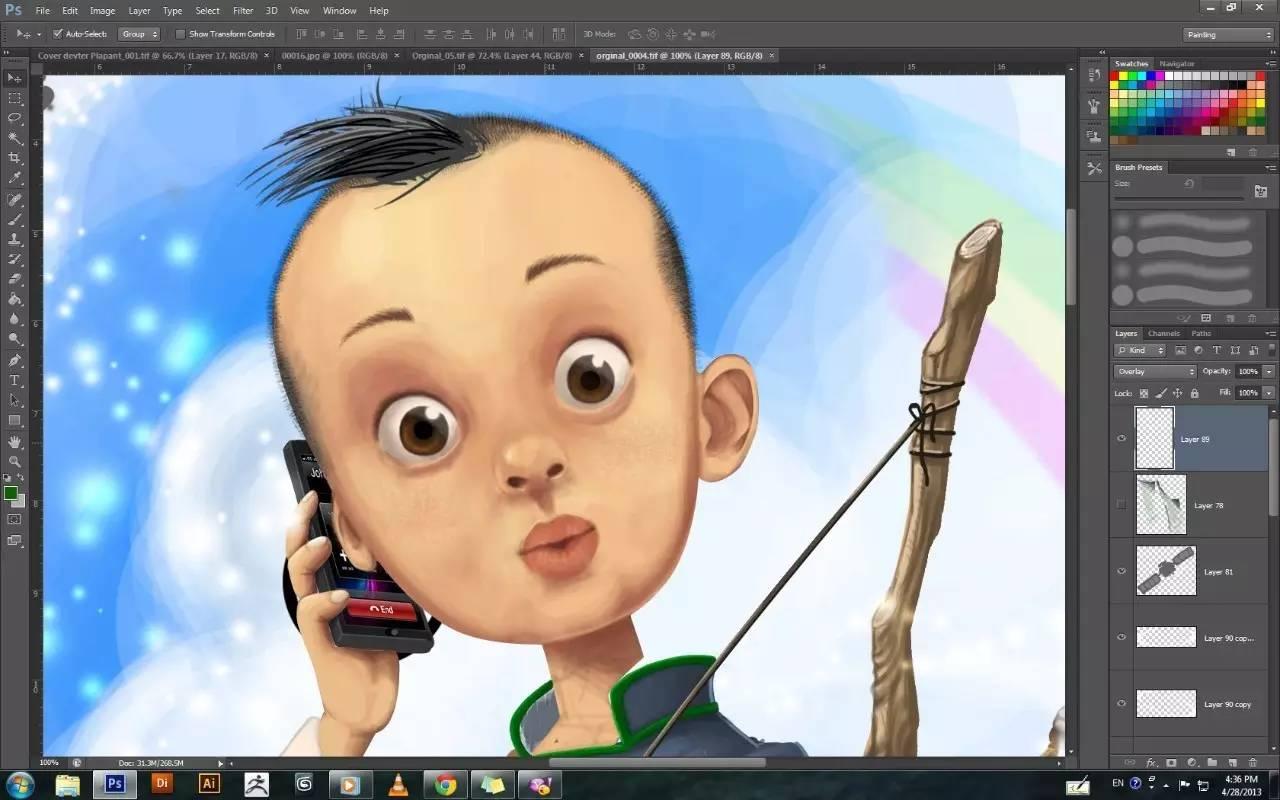 插画 | enkhtur bayrsaikhan笔下的蒙古族小孩 第3张