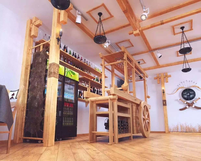 室内设计|蒙古传统风格餐厅