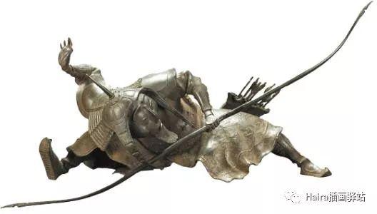 绘画作品|当达西的雕塑被搬上画纸时