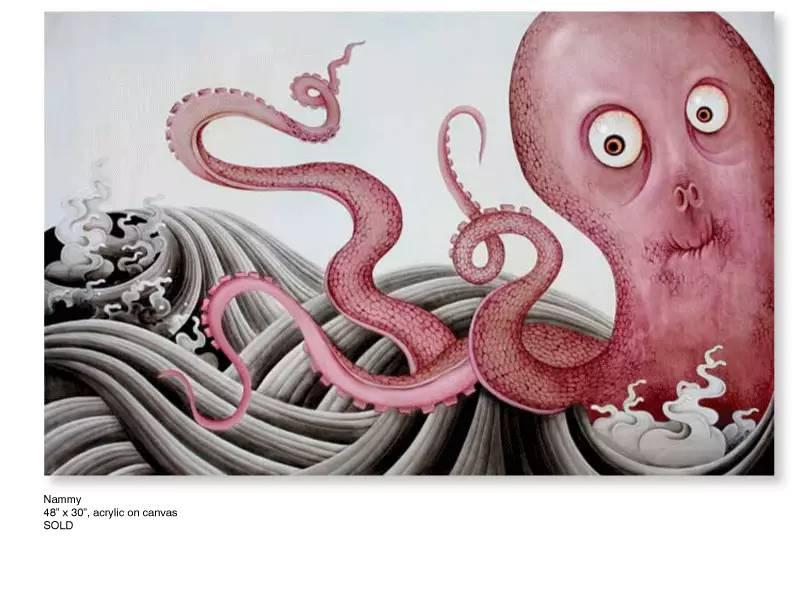 大众艺术网:插画 | 东西文化的融合 —— 旅美蒙古女画家  Solongo Mellecker 插画作品欣赏 第4张