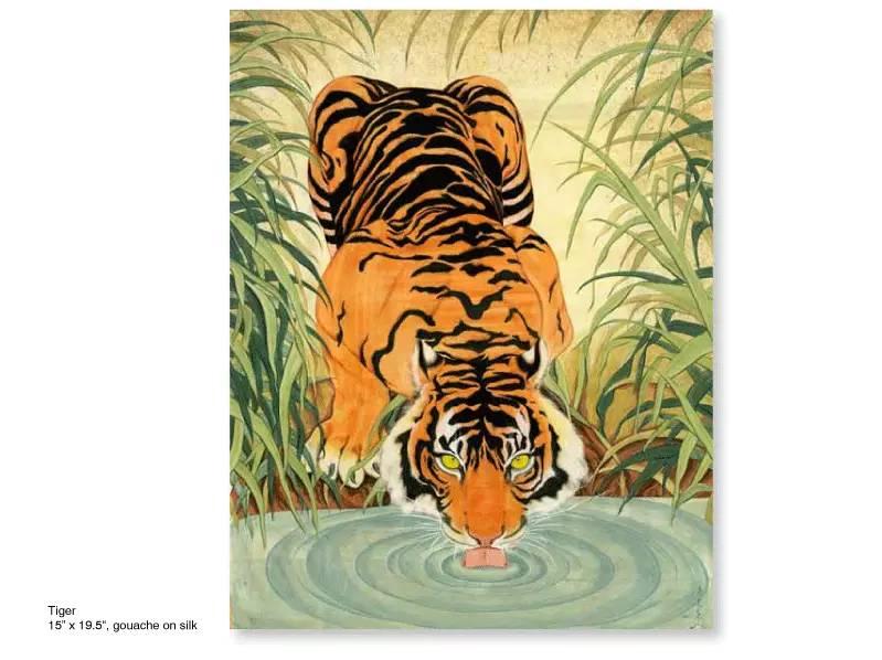 大众艺术网:插画 | 东西文化的融合 —— 旅美蒙古女画家  Solongo Mellecker 插画作品欣赏 第17张
