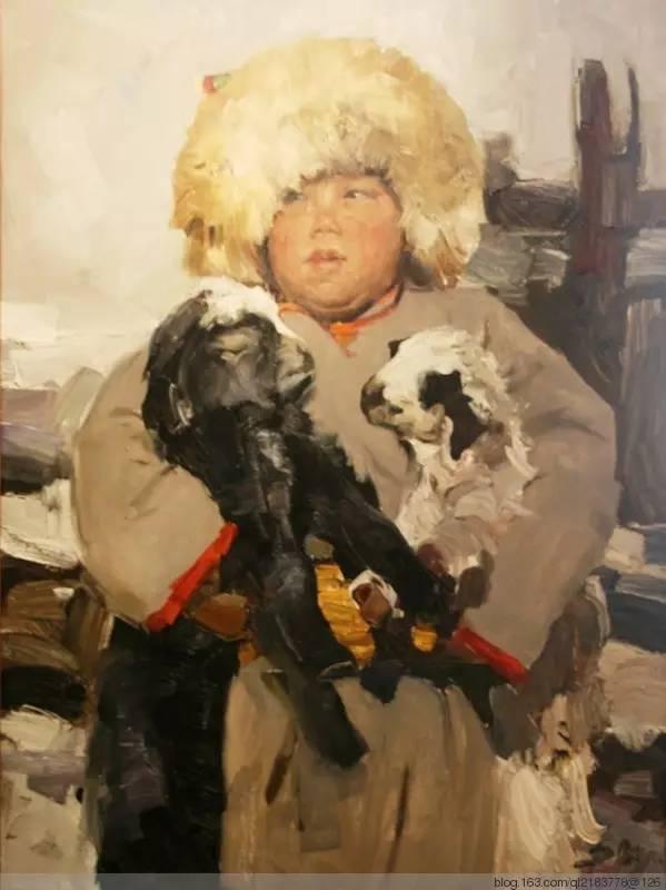 一画|蒙古国著名艺术家 Badam.Otgoo 油画作品 第12张