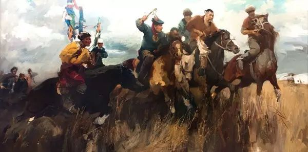 一画|蒙古国著名艺术家 Badam.Otgoo 油画作品 第3张