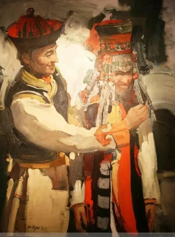 一画|蒙古国著名艺术家 Badam.Otgoo 油画作品 第18张