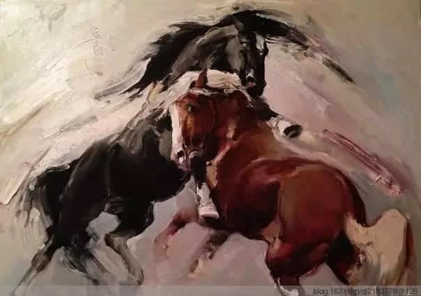 一画|蒙古国著名艺术家 Badam.Otgoo 油画作品 第19张