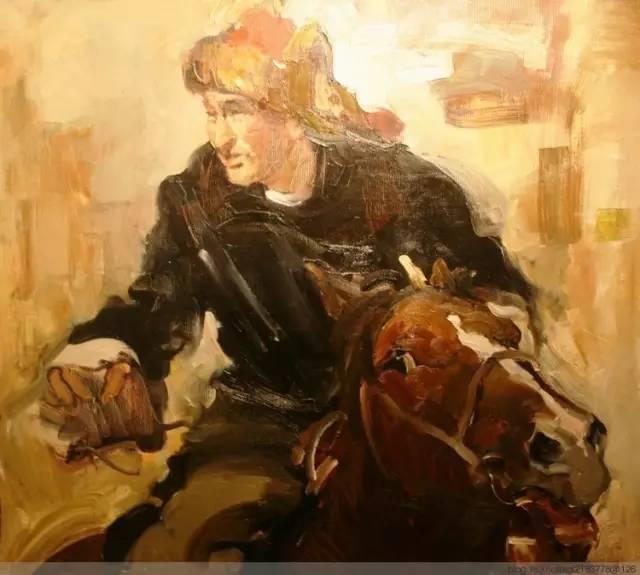 一画|蒙古国著名艺术家 Badam.Otgoo 油画作品 第15张