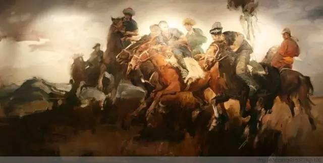 一画|蒙古国著名艺术家 Badam.Otgoo 油画作品 第32张