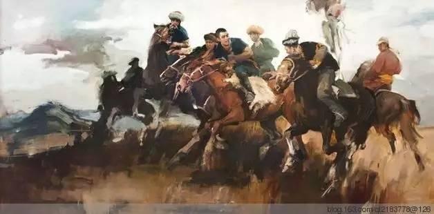 一画|蒙古国著名艺术家 Badam.Otgoo 油画作品 第38张