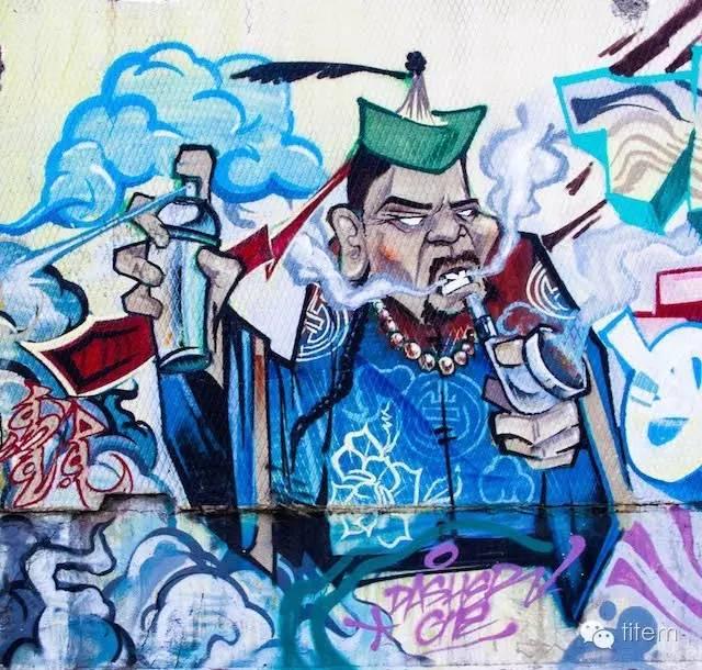〖欣赏〗蒙古国街道上的绘画艺术 第2张