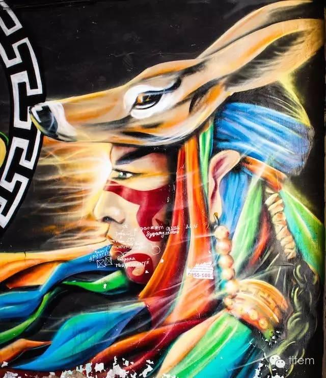 〖欣赏〗蒙古国街道上的绘画艺术 第7张