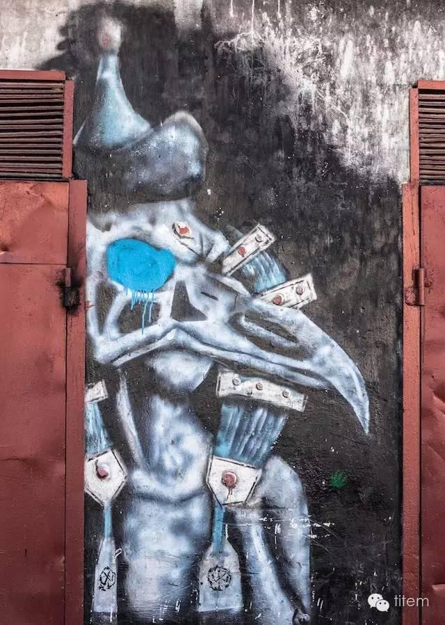 〖欣赏〗蒙古国街道上的绘画艺术 第13张