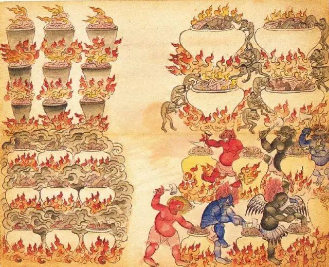 地狱变相图【蒙古绘画】 第28张