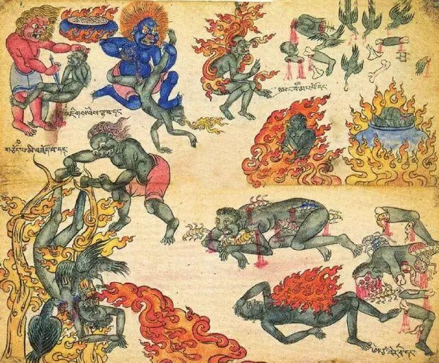 地狱变相图【蒙古绘画】 第27张