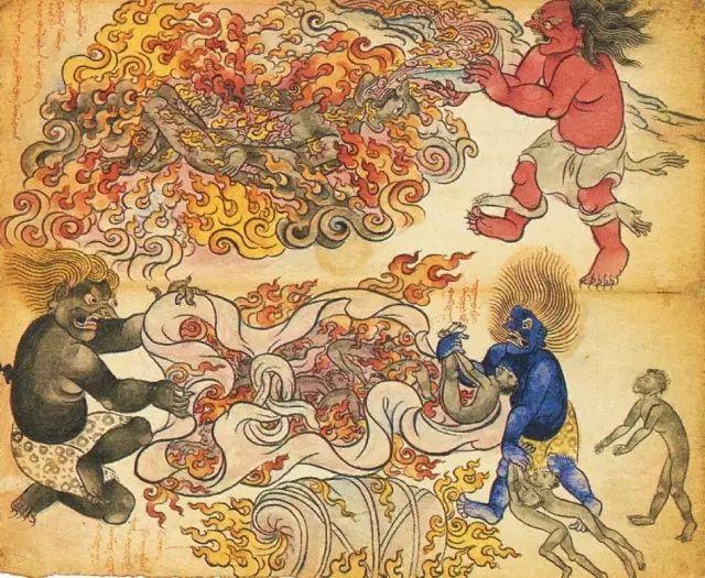 地狱变相图【蒙古绘画】 第31张