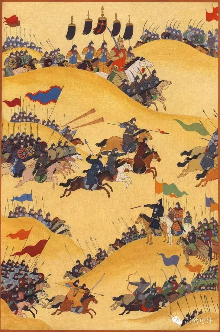 【经典】蒙古国上世纪绘画作品,那时的人那时的风景~ 第5张