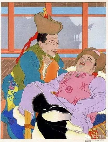 【经典】蒙古国上世纪绘画作品,那时的人那时的风景~ 第3张