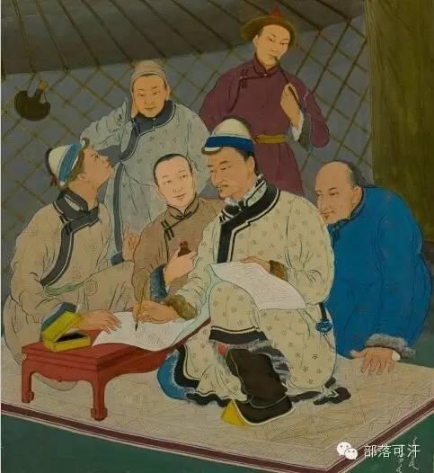 【经典】蒙古国上世纪绘画作品,那时的人那时的风景~ 第12张