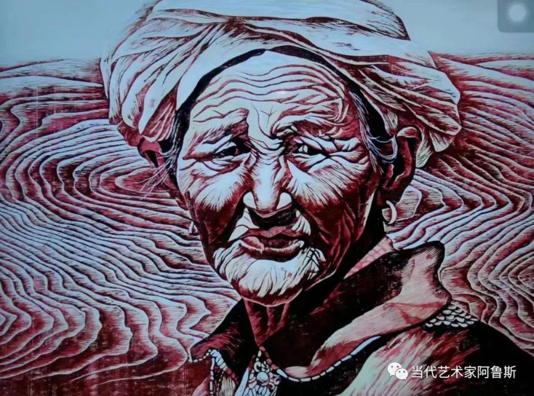 《艺术世界本期专访》蒙古族版画家德力格仁贵艺术之路 第2张