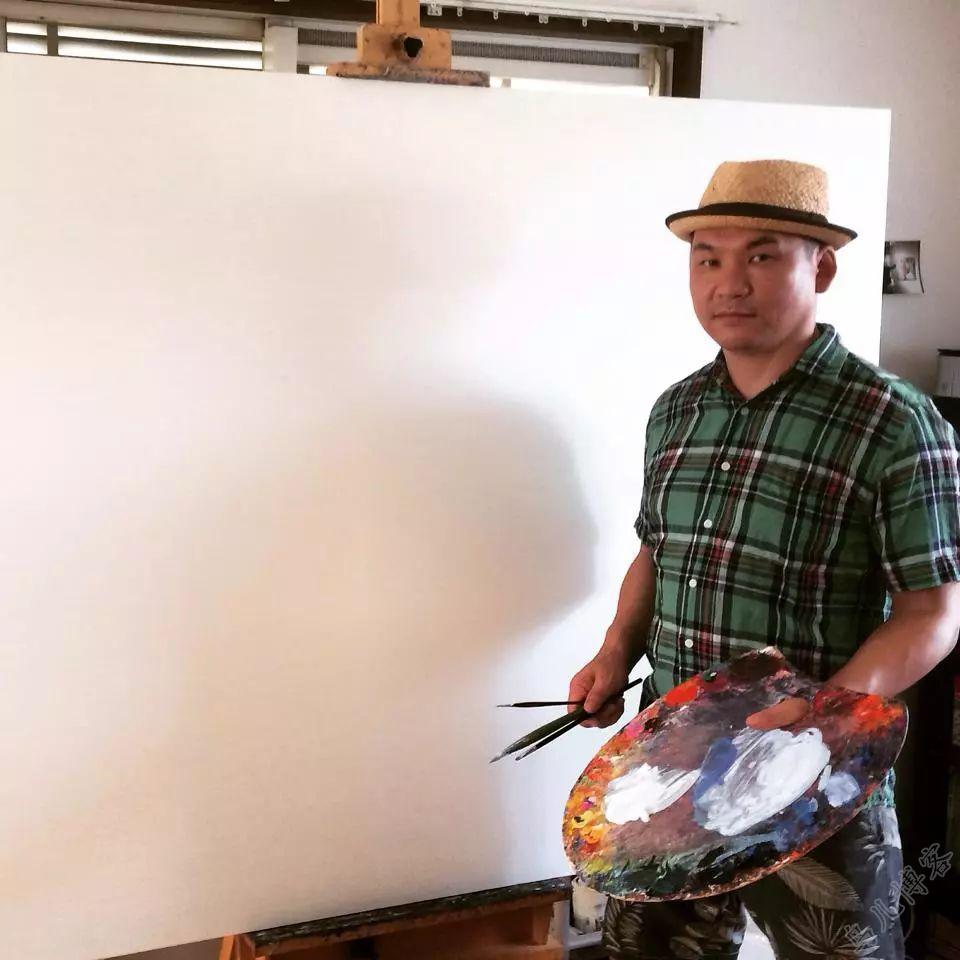 独具艺术感!蒙古国画家Zayasaikhan Sambuu的的作品每一幅值得收藏 第1张