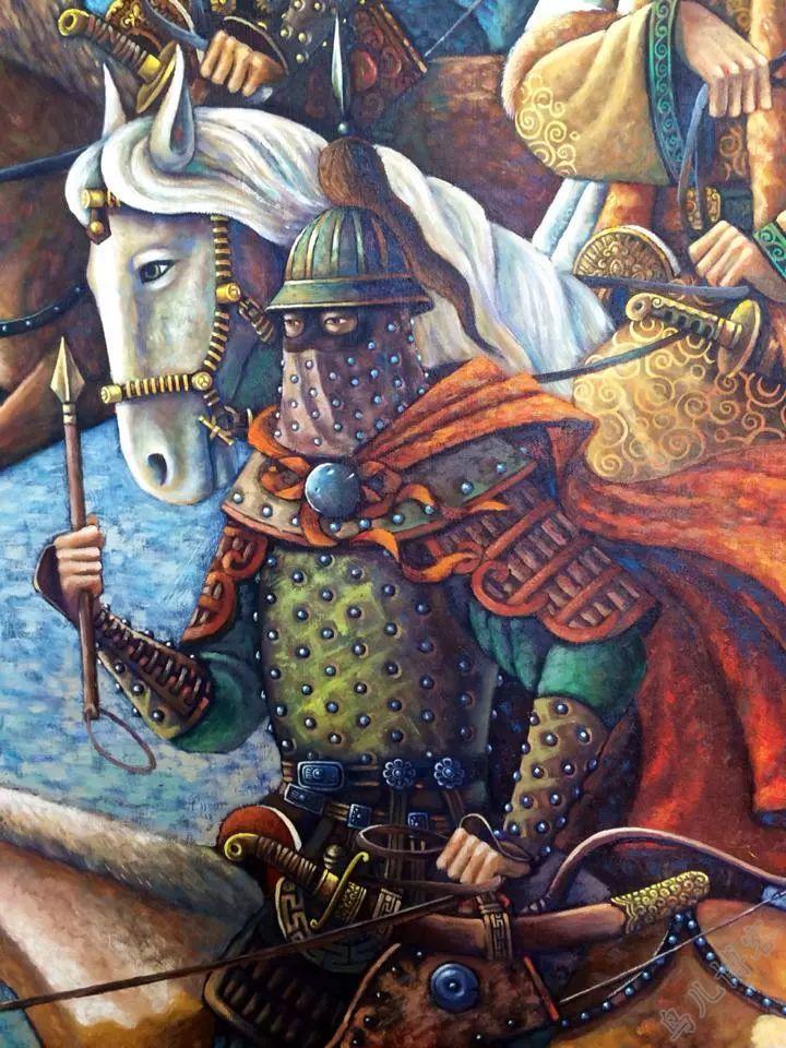 独具艺术感!蒙古国画家Zayasaikhan Sambuu的的作品每一幅值得收藏 第10张