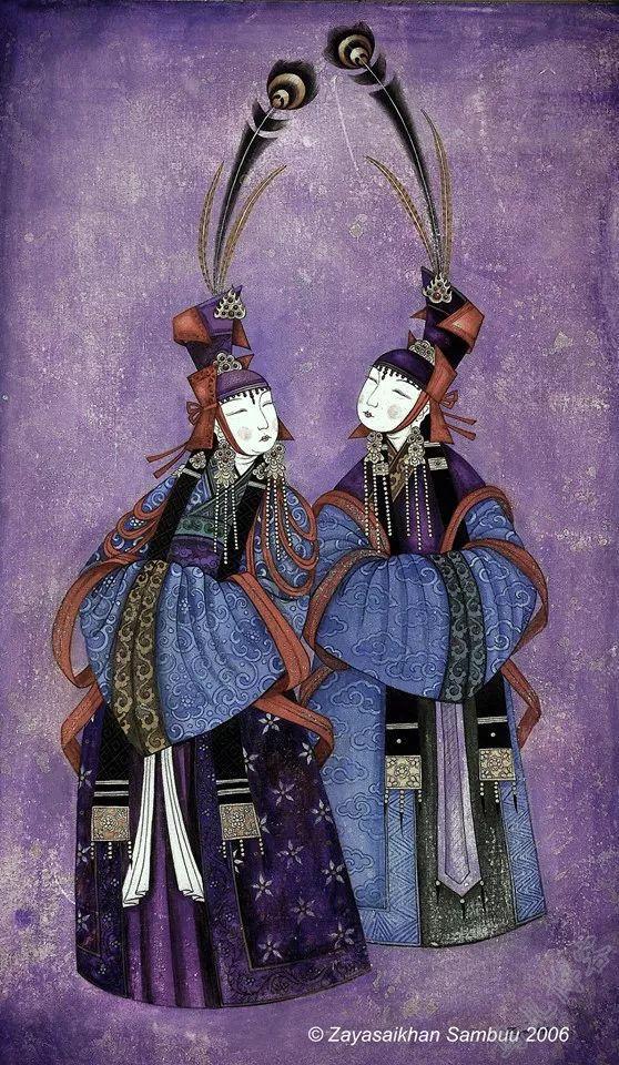 独具艺术感!蒙古国画家Zayasaikhan Sambuu的的作品每一幅值得收藏 第16张
